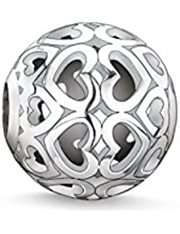 Thomas Sabo Femmes-Bead Cœurs Karma Beads Argent Sterling 925 K0006-001-12