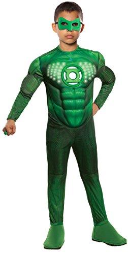 Green Lantern? Deluxe Kostüm für Jungen - 8-10 (Lightup Kostüme Tutu)