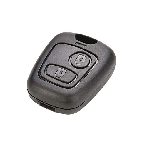 RUNGAO - Carcasa llave coche compatible Peugeot 107
