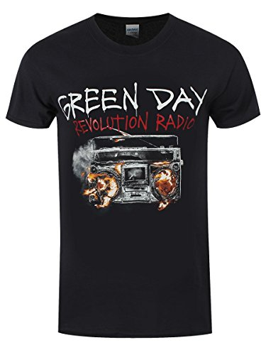 T Shirt Revolution Radio Green Day (Nero) - Large