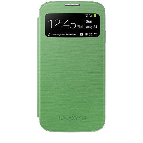 Samsung EF-CI950BGEGWW S View Cover per Galaxy S4, Verde