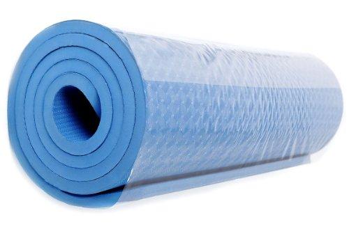 FA Sports Yogamatte Yogiplus Unilayer, Blau, 183 x 61 x 1.2 cm, 1421