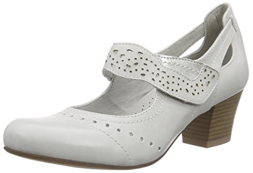 Jana 24307 Damen Pumps Grau (ICE 101)