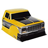 INJORA RC Carrosserie Corps Coquille F150 Head Body Shell pour 1/10 RC Crawler Axial SCX10 90046 Traxxas TRX4 RC4WD D90 MST (Jaune)