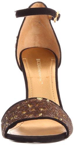 BCBGeneration Jett Damen Textile Sandale Antique Bronze/Blk
