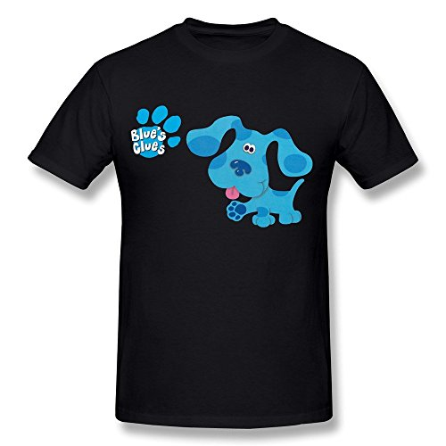 Herren's Blue's Clues TV T-Shirt (Blues Clues-bekleidung)