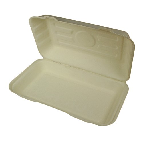 Sugarcane Fish & Chip Clamshells - Pack of 50 - Compostable for sale  Delivered anywhere in UK