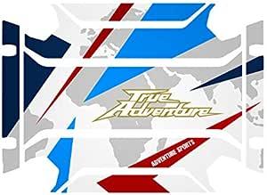 Kit 2 Stickers FÜr Seitliche FÄlle Africa Twin Adventure Sports Vha 003 Tricolor Auto