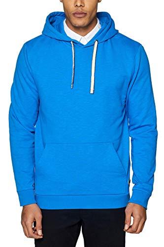 ESPRIT Herren Sweatshirt 029EE2J006, Blau (Blue 430), Small (Herstellergröße: S)