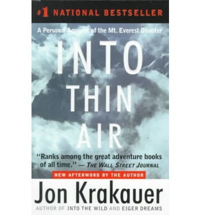 (Into Thin Air) By Krakauer, Jon (Author) Hardcover on (10 , 1999) par Jon Krakauer