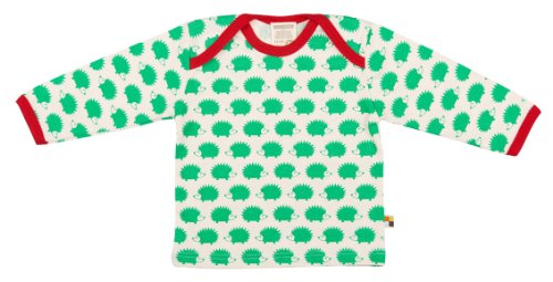 Loud + Proud Unisex - Baby Sweatshirt 205, Gr. 68 (Herstellergröße: 62/68), Grün (Verde Ve)