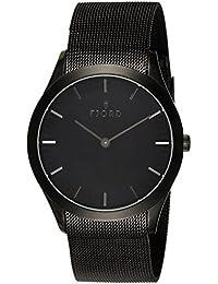 Fjord Analog Black Dial Men's Watch-FJ-3007-33