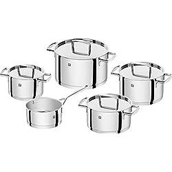 Zwilling 66060-000 Passion Batterie de cuisine Acier Inoxydable Aluminium 5 pièces