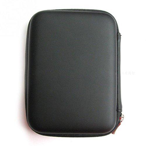 Tragbare 2,5 Zoll HDD Schutz Tasche für externe Festplatte Fall Schutz schwarz