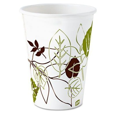 NEW - Pathways Paper Hot Cups, 8 oz, 500/Carton - 2338WS by Dixie