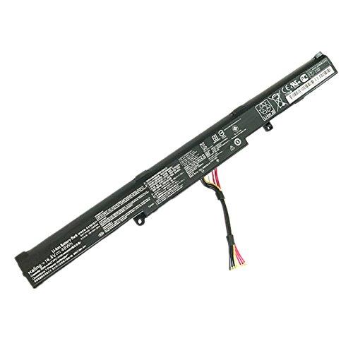 Hubei A41N1611 A41LK5H A41LP4Q OB110-00470000 Batterie d'ordinateur Portable pour ASUS ROG Strix GL553 GL553VW GL553VD GL553VE FX53VD GL753V GL752VW FX53VD(14.4V 48Wh)