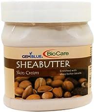 Biocare GemBlue Shea Butter Skin Cream, 500ml