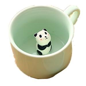 Zah 300ml 3d Animal Cup Morning Mug, Panda by ZAH