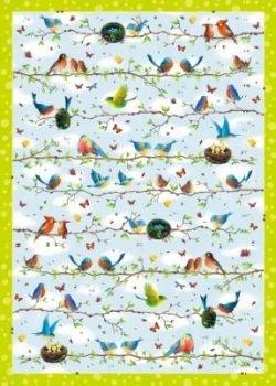 Geschenkpapier Alle Vögel sind schon da