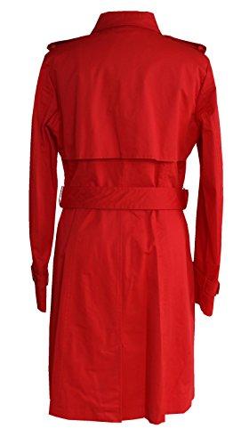 Taifun Damen klassischer Trenchcoat 750035-11554 hibiscus Hibiscus