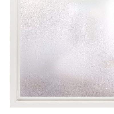 Rabbitgoo Fensterfolie Selbstklebend Sichtschutzfolie Milchglasfolie Matt von GLOBEGOU WZ CO.,LTD bei TapetenShop