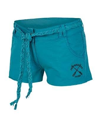 Bench, Pantaloni corti Donna Parsonage Garden, Blu (Biscay Bay), X-Small (Taglia Produttore: XS)