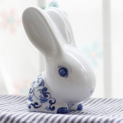 VIOY Blaue und weiße Keramik handbemalte Ornamente kreative Heimat Porzellan Kunsthandwerk...