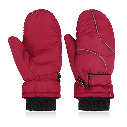 Hawiton Impermeable Guantes niño Invierno Térmicos