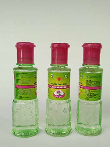Cap Lang Minyak ekaliptus rosa aromaterapia aceite