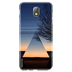 """iSweven Samsung Galaxy J7 Pro, printed designer slim fit hard case cover, light weight """"360 degree"""" protection, matte finish back cover for Samsung J7 Pro (2996 Art)"""