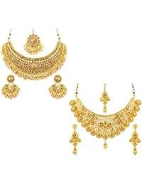 Sukkhi Jewellery Set for Women (Golden)(CB73381)