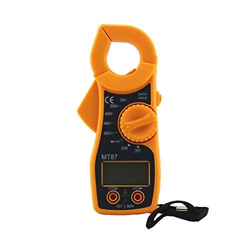 Fliyeong Spannungs- und Strommessgerät Digitales Zangenmessgerät Zangenmessgerät Widerstand Elektrischer Test