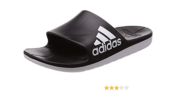 349909039a3e25 adidas Men s Aqualette Cf Beach   Pool Shoes  Amazon.co.uk  Shoes   Bags
