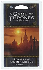 Fantasy Flight Games FFGGT09 Across The Seven Kingdoms Chapter Pack: AGOT LCG 2nd Ed, Multicolor