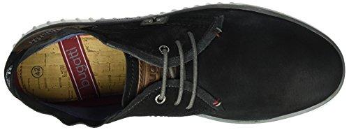 Bugatti K37301g, Sneakers Hautes Homme Noir (Schwarz/Braun 102)