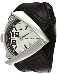 Fastrack Bikers Analog White Dial Men's Watch -NL3022SL01