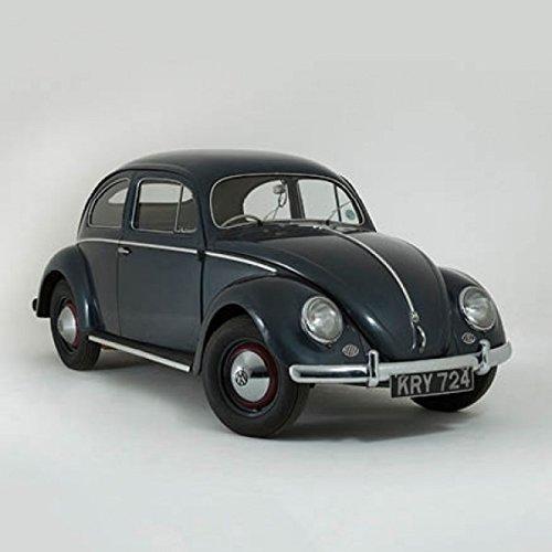 VW Volkswagen Käfer klassisches auto grußkarte mit motor solide innen