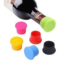 Vicloon Tappo di Bottiglia,6Pezzi Capsule in Tappo per Bottiglie di Champagne Vino,Tappi per Bottiglie Riutilizzabili