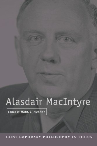 Alasdair MacIntyre Paperback (Contemporary Philosophy in Focus)