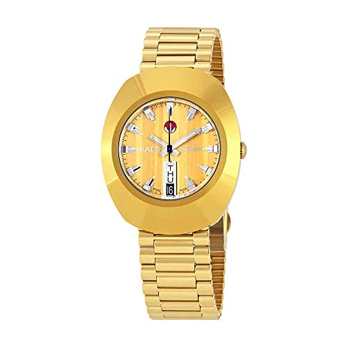 Rado The Original Automatic Gold Zifferblatt Herren Armbanduhr r12413633 (Rado Original)