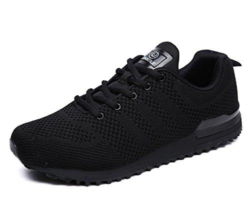 HooH Hommes Baskets Confortable Respirant Léger Trail Running Athlétique Chaussures de Course