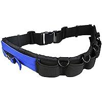 eFonto/JJC al aire libre Viaje Utilidad fotografía Cinturón Bolsas de lente de cámara & SD Tarjeta de memoria Organización de Funda Accesorios Cinturón