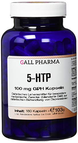 Gall Pharma 5-HTP 100 mg GPH Kapseln, 180 Kapseln
