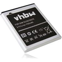 Batería de reemplazo, LI-ION, compatible con Samsung GT-S5570, Galaxy Mini, GT-S5250, GT-S5750, GT-S5750E, GT-S7230, GT-S7230E, Wave 723, Wave 575.