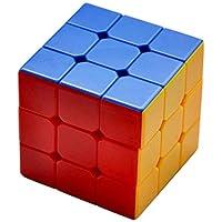 Toyshine High Stability Stickerless - 3x3x3 Speed Cube, Multi Color