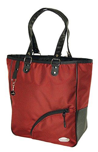 Haberland Reikya Einkaufstasche, rot, 32 x 37 x 13 cm