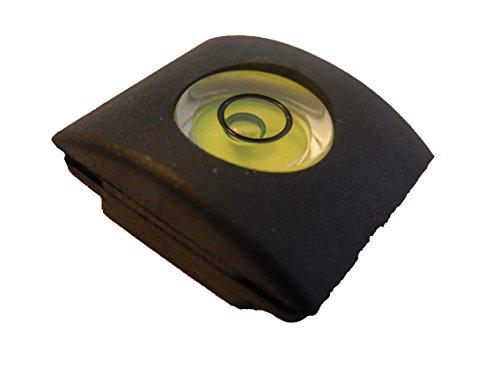 vhbw 2in1 Blitzschuh Abdeckung mit Wasserwaage für Kamera Canon, Nikon, Olympus, Sigma, Casio, Kodak, Samsung, Fujifilm. Casio Canon Eos