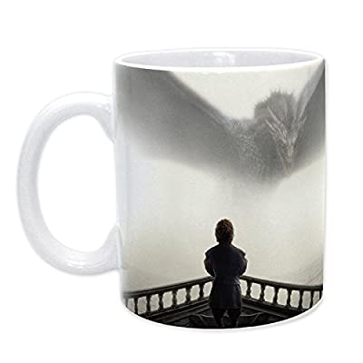 ABYstyle ABYMUG187- Mug Tyrion and Dragon Design Game of Thrones 320 ml Porcelain Multi-Coloured