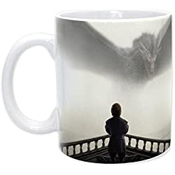ABYstyle abymug187 Tyrion y Dragon taza Game of Thrones porcelana, 320 ml, Multicolor
