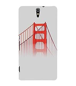 PrintVisa Travel San Francisco Bridge Design 3D Hard Polycarbonate Designer Back Case Cover for Sony Xperia C5 Dual